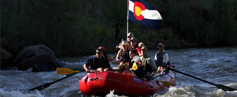 Rafting on the Animas River Durango - southwest colorado