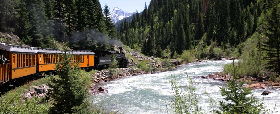 Durango Real Estate - Durango Train in southwest colorado