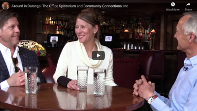 Episode 9 – A Round at The Office Spiratorium with Community Connections
