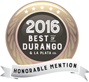 best of durango 2016 award