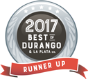 best of durango 2017 award