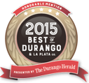 best of durango 2015 award